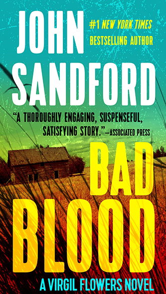 Bad Blood, tall paperback